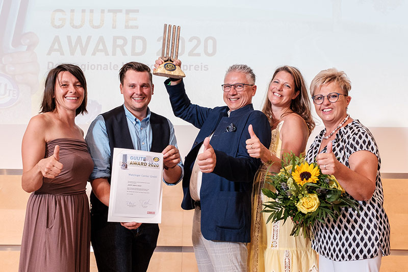 Watzinger Center GmbH - GUUTE Award Gewinner 2020